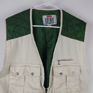 fb0b122a5d On the Brink Men Jackets Hunting Vest Quilted Back
